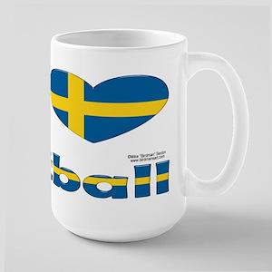 Swedish Football Large Mug