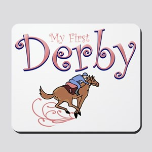 my first derby girl Mousepad