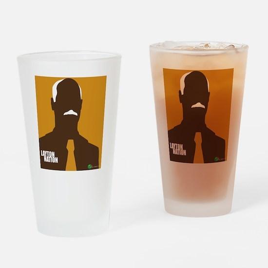 layton nation Drinking Glass