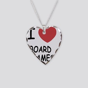 BOARD_GAMES Necklace Heart Charm