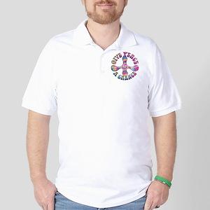 give-peace-chnc-LTT Golf Shirt