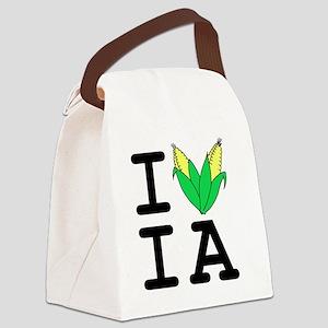 IheartIA v1 Canvas Lunch Bag