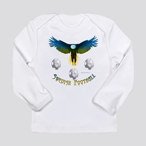 Sweden Soccer Eagle Long Sleeve T-Shirt