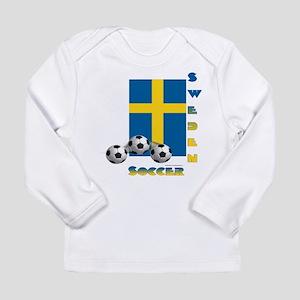 Sweden Soccer Power15 Long Sleeve T-Shirt