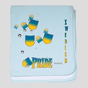 Swede Pride baby blanket