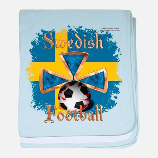 Swedish Football Spice Baby Blanket