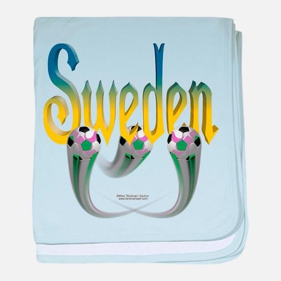 Sweden Football Infant Blanket