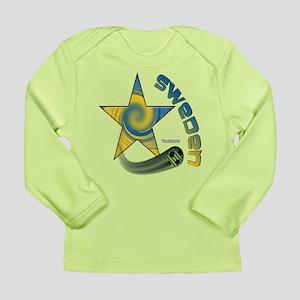 Sweden Star Swoosh Long Sleeve Infant T-Shirt