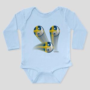 Yin Yang Sweden2 Long Sleeve Infant Bodysuit