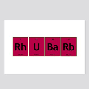 rhubarb Postcards (Package of 8)