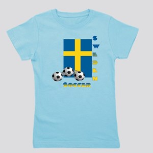 Sweden Soccer Power15 Girl's Tee