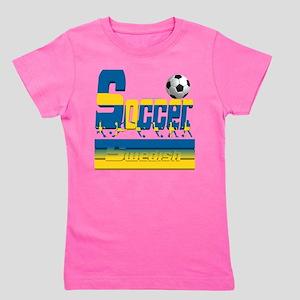 Bold Soccer Sweden Girl's Tee