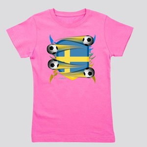 Swede Tribal Shield Girl's Tee