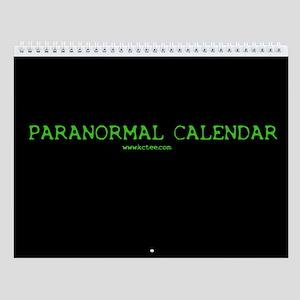 Paranormal Wall Calendar