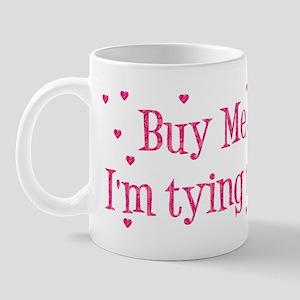 Buy Me A Shot - Hot Pink Mug