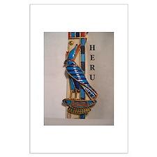 HORUS/HERU Large Poster