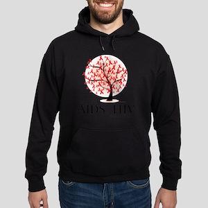 AIDSHIV-Tree Hoodie (dark)