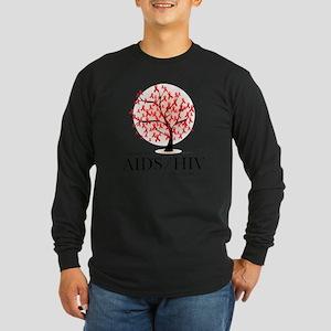 AIDSHIV-Tree Long Sleeve Dark T-Shirt