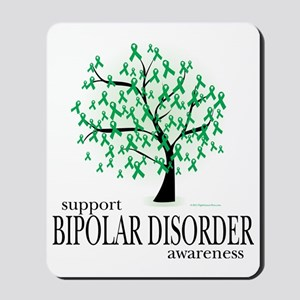 Bipolar-Disorder-Tree Mousepad