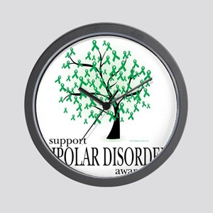 Bipolar-Disorder-Tree Wall Clock