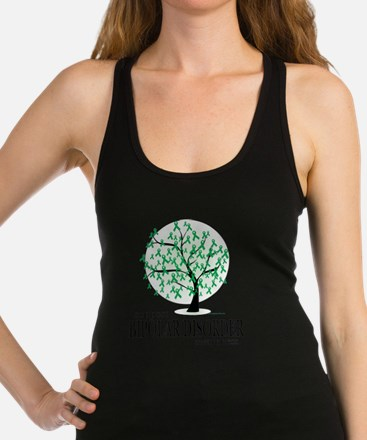 Bipolar-Disorder-Tree Racerback Tank Top