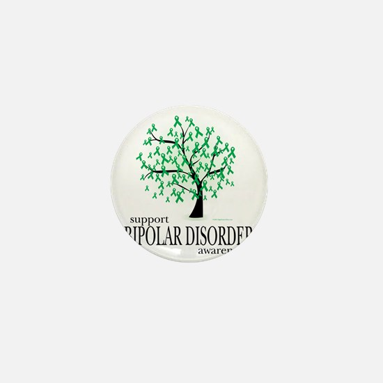 Bipolar-Disorder-Tree Mini Button
