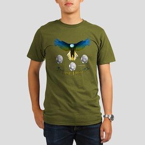 Sweden Soccer Eagle Organic Colored T-Shirt