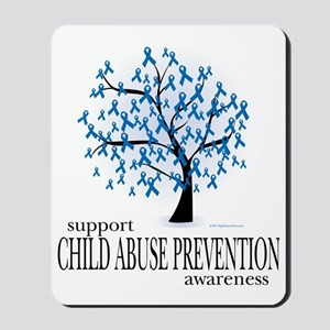 Child-Abuse-Tree Mousepad