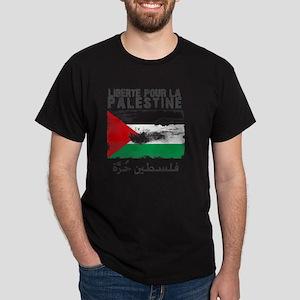 freepalestineengfren Dark T-Shirt