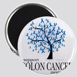 Colon-Cancer-Tree Magnet
