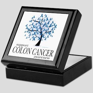 Colon-Cancer-Tree Keepsake Box