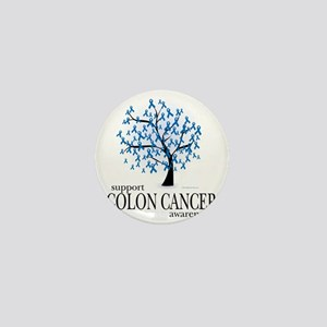 Colon-Cancer-Tree Mini Button
