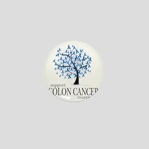 Colon-Cancer-Tree Mini Button