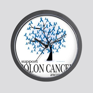 Colon-Cancer-Tree Wall Clock