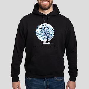 Colon-Cancer-Tree Hoodie (dark)