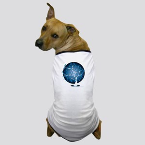 Colon-Cancer-Tree-blk Dog T-Shirt