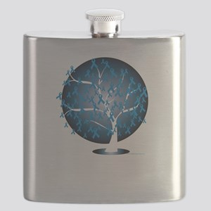 Colon-Cancer-Tree-blk Flask