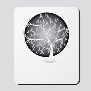 Diabetes-Tree-blk Mousepad