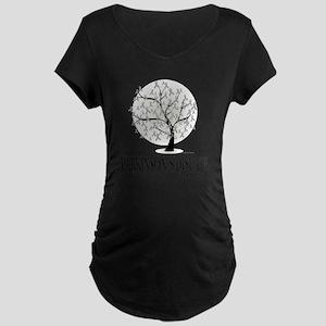 Parkinsons-Disease-Tree Maternity Dark T-Shirt