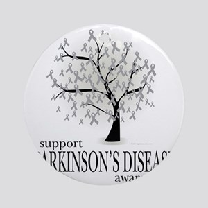 Parkinsons-Disease-Tree Round Ornament