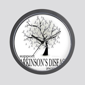 Parkinsons-Disease-Tree Wall Clock