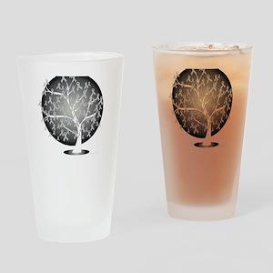 Parkinsons-Disease-Tree-blk Drinking Glass