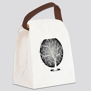 Parkinsons-Disease-Tree-blk Canvas Lunch Bag
