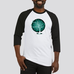 Ovarian-Cancer-Tree-blk Baseball Jersey