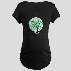 Organ-Donation-Tree Maternity Dark T-Shirt