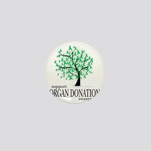 Organ-Donation-Tree Mini Button