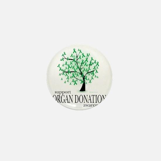 Organ-Donation-Tree Mini Button