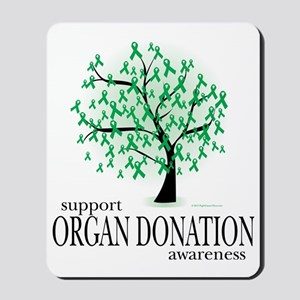 Organ-Donation-Tree Mousepad