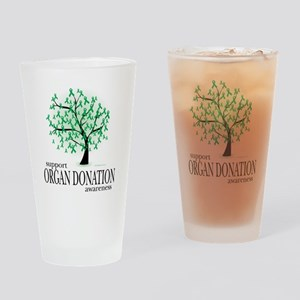 Organ-Donation-Tree Drinking Glass