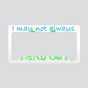 Awareness Tee Stand Out copy  License Plate Holder